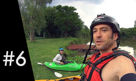 This was silly: Kayaking in a thunderstorm
