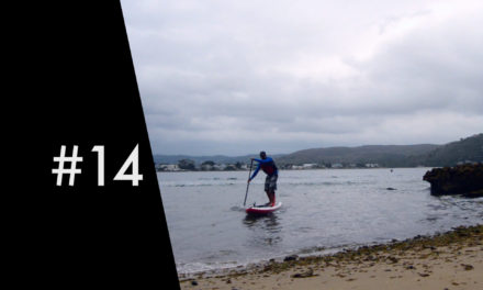 SUP to a tiny private beach – Knysna