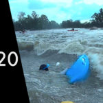 A river rescue type of day – High water, top section right, Vaal River