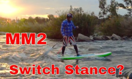 SUP River Surfing the Red Paddle Co Whip – Switch Stance Training